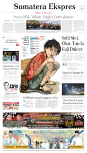 Sumatera Ekspres Cover 12 October 2019