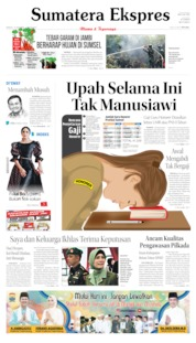 Sumatera Ekspres Cover 13 October 2019