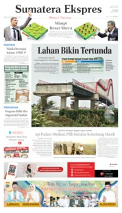 Sumatera Ekspres Cover 14 October 2019
