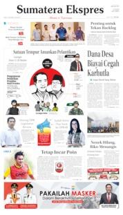 Sumatera Ekspres Cover 16 October 2019