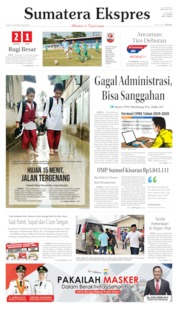 Sumatera Ekspres Cover 18 October 2019