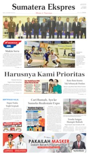 Sumatera Ekspres Cover 19 October 2019