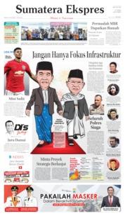 Cover Sumatera Ekspres 20 Oktober 2019