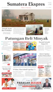 Sumatera Ekspres Cover 23 October 2019