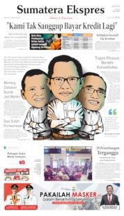Cover Sumatera Ekspres 24 Oktober 2019