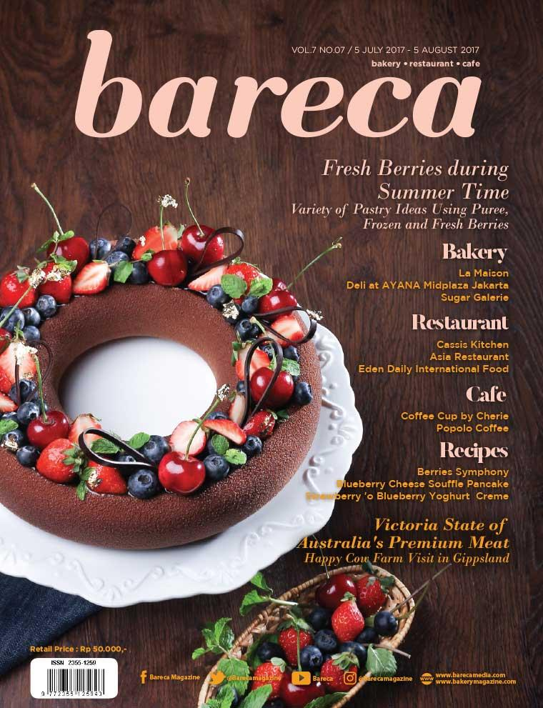 Bareca Bakery Resto Cafe Digital Magazine July 2017