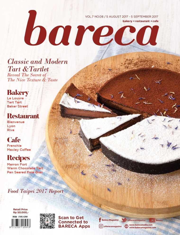 Bareca Bakery Resto Cafe Digital Magazine August 2017