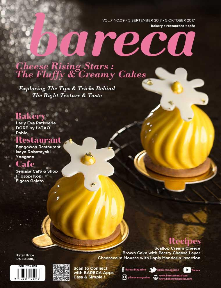 Bareca Bakery Resto Cafe Digital Magazine September 2017