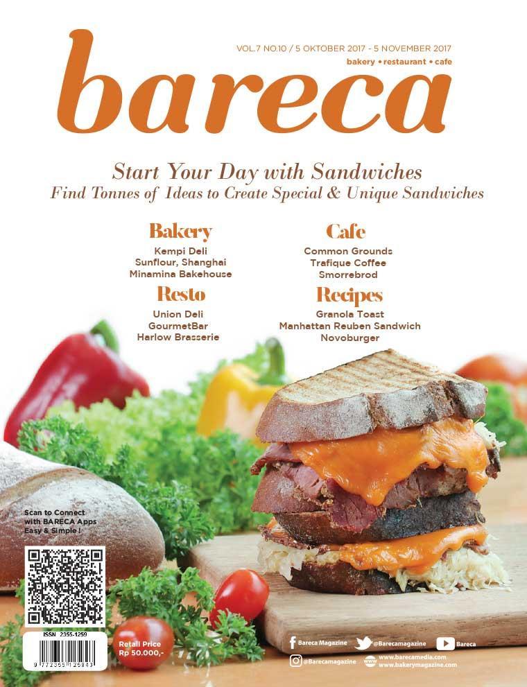 Bareca Bakery Resto Cafe Digital Magazine October 2017