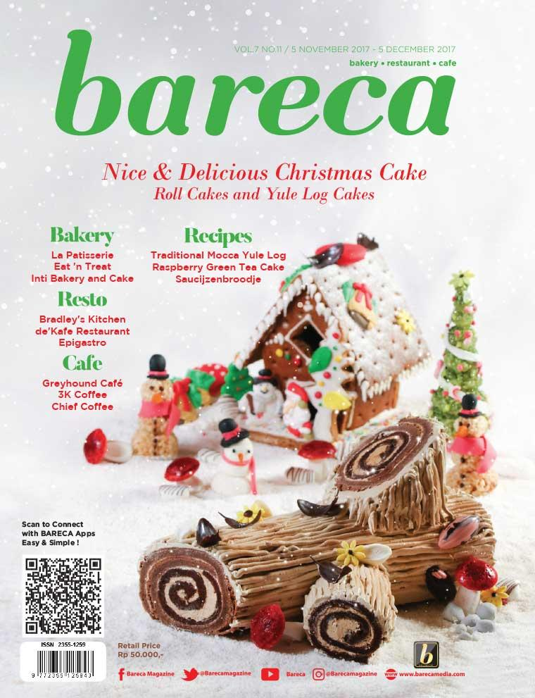 Majalah Digital Bareca Bakery Resto Cafe November 2017