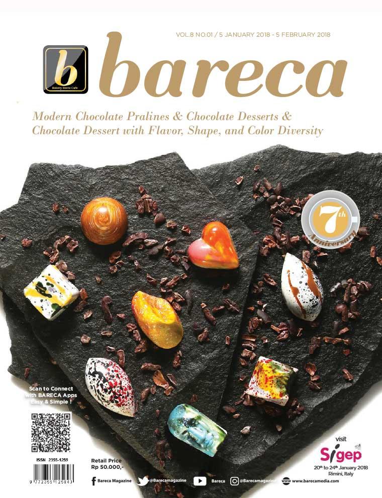 Majalah Digital Bareca Bakery Resto Cafe Januari 2018