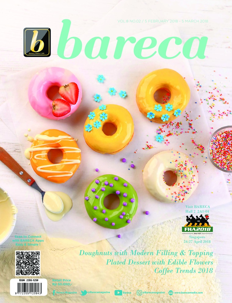 Bareca Bakery Resto Cafe Digital Magazine February 2018