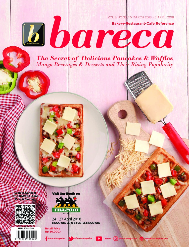 Bareca Bakery Resto Cafe Digital Magazine March 2018