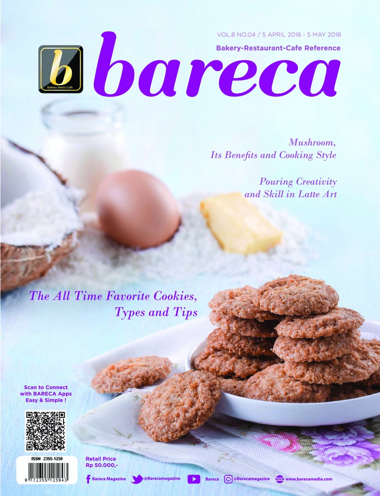 Bareca Bakery Resto Cafe Digital Magazine April 2018