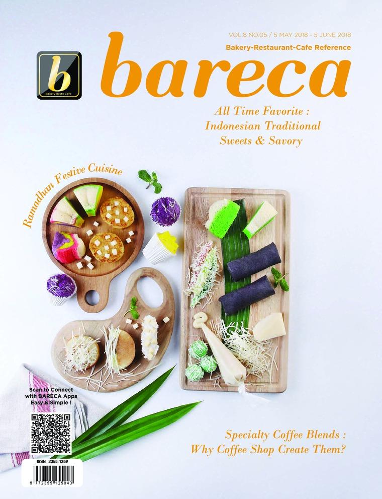 Majalah Digital Bareca Bakery Resto Cafe Mei 2018