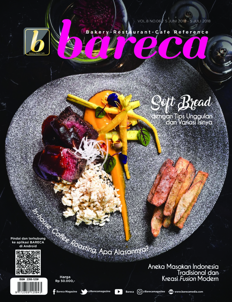 Bareca Bakery Resto Cafe Digital Magazine June 2018