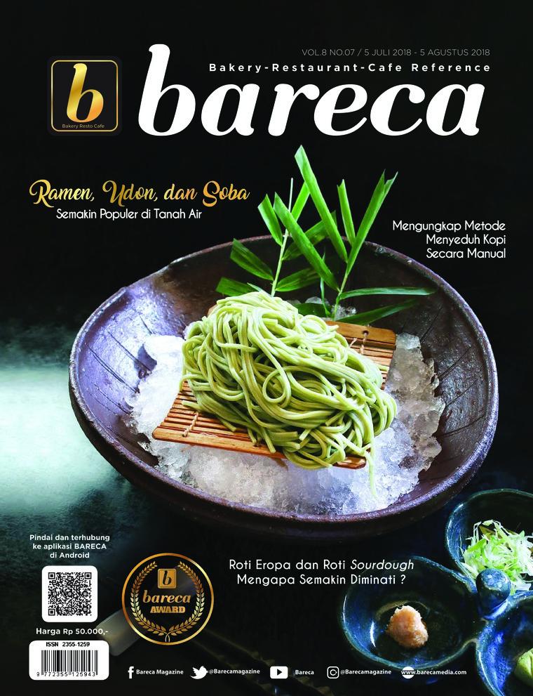 Bareca Bakery Resto Cafe Digital Magazine July 2018