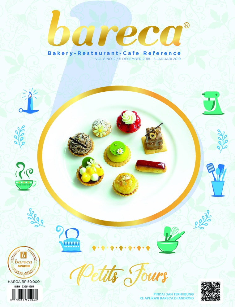 Bareca Bakery Resto Cafe Digital Magazine December 2018