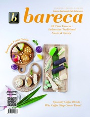 Bareca Bakery Resto Cafe Magazine Cover May 2018