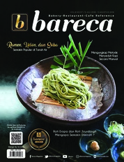 Bareca Bakery Resto Cafe Magazine Cover July 2018