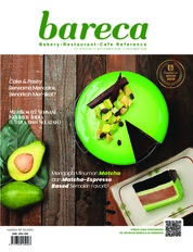 Cover Majalah Bareca Bakery Resto Cafe September 2018