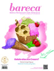 Bareca Bakery Resto Cafe Magazine Cover October 2018