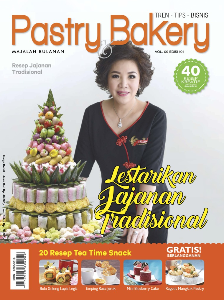 Majalah Digital Pastry & Bakery ED 101 Januari 2018