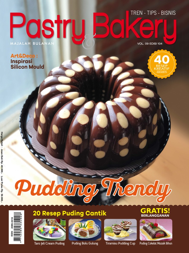 Majalah Digital Pastry & Bakery ED 104 April 2018