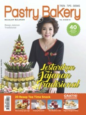 Pastry & Bakery Magazine Cover ED 101 January 2018