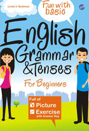 Cover English Grammar & Tenses for Beginners oleh Linda V. Budiman