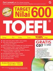 Cover TARGET Nilai 600 TOEFL oleh Peni Larasati with Tim I-Smart University
