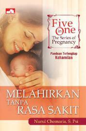 Cover Five in One: The Series of Pregnancy, Melahirkan Tanpa Rasa Sakit oleh Nurul Chomaria, S. PSi