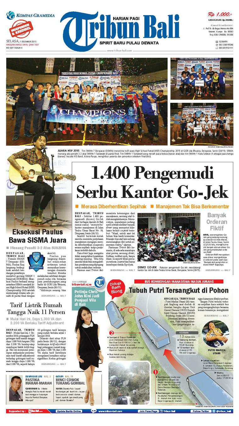 Tribun Bali Digital Newspaper