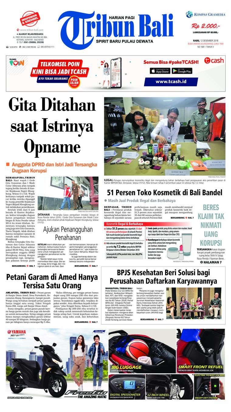 Koran Digital Tribun Bali 12 Desember 2018