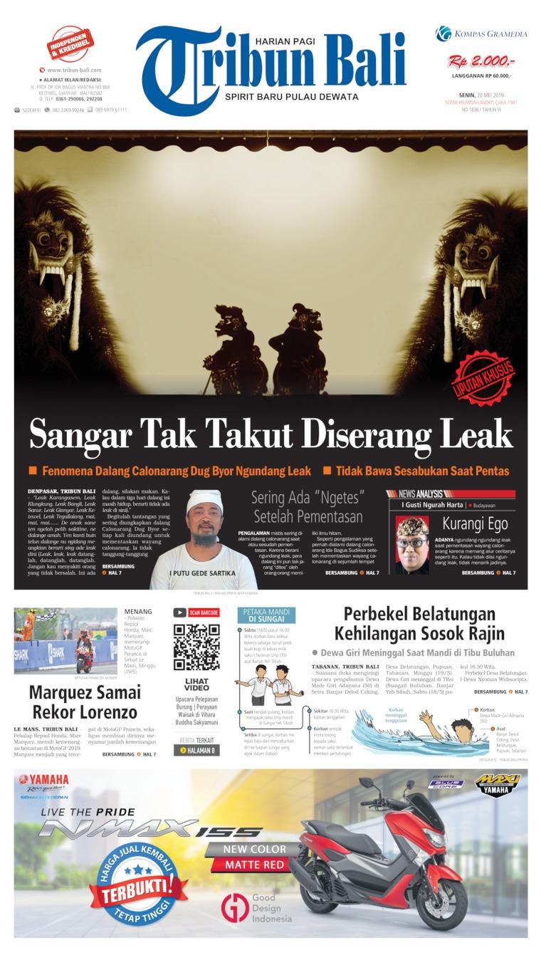 Koran Digital Tribun Bali 20 Mei 2019