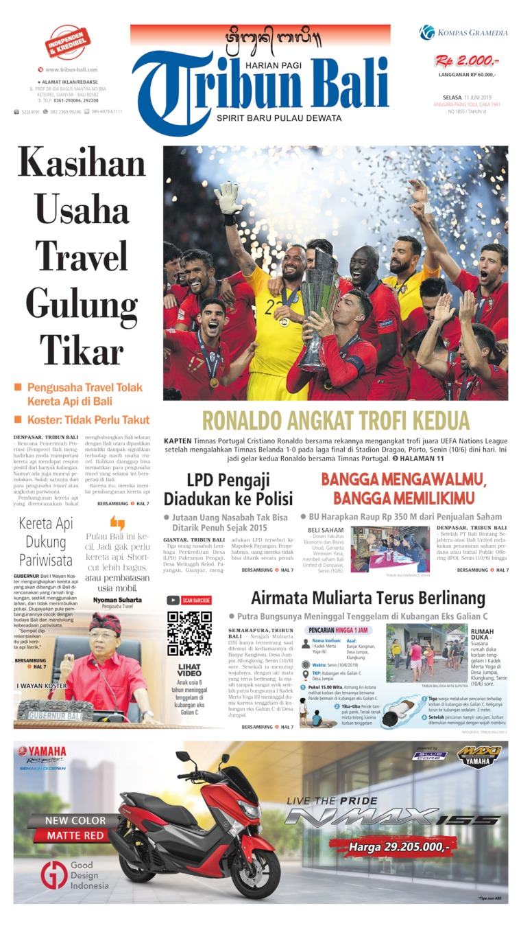 Tribun Bali Digital Newspaper 11 June 2019