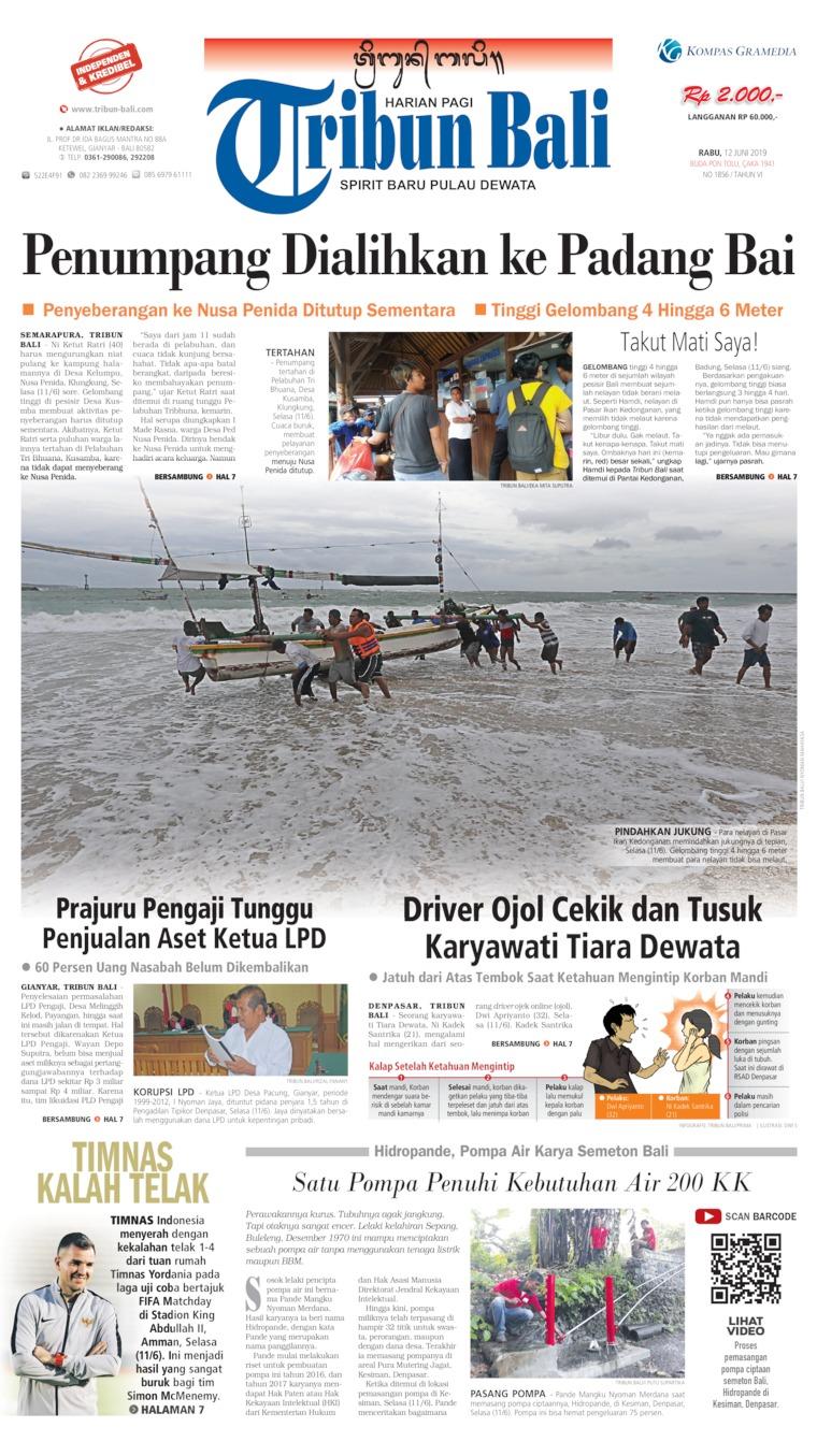Tribun Bali Digital Newspaper 12 June 2019