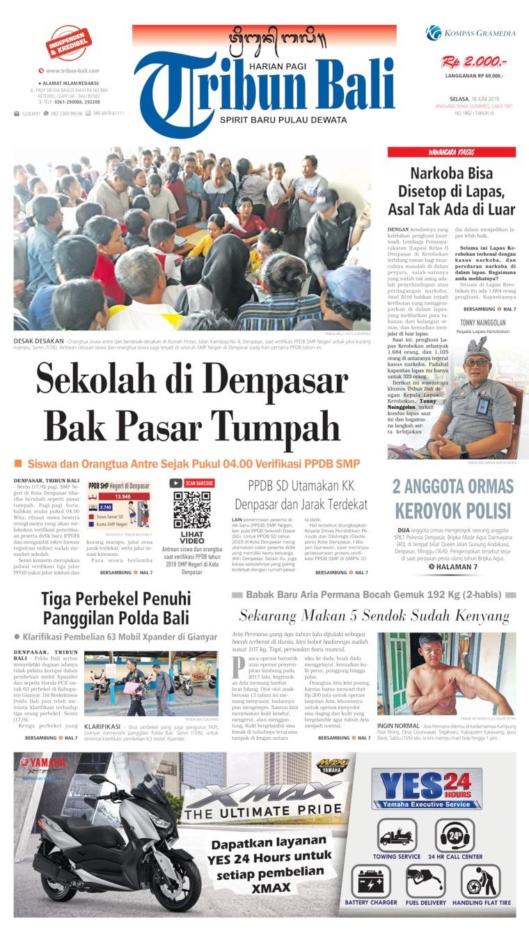 Koran Digital Tribun Bali 18 Juni 2019