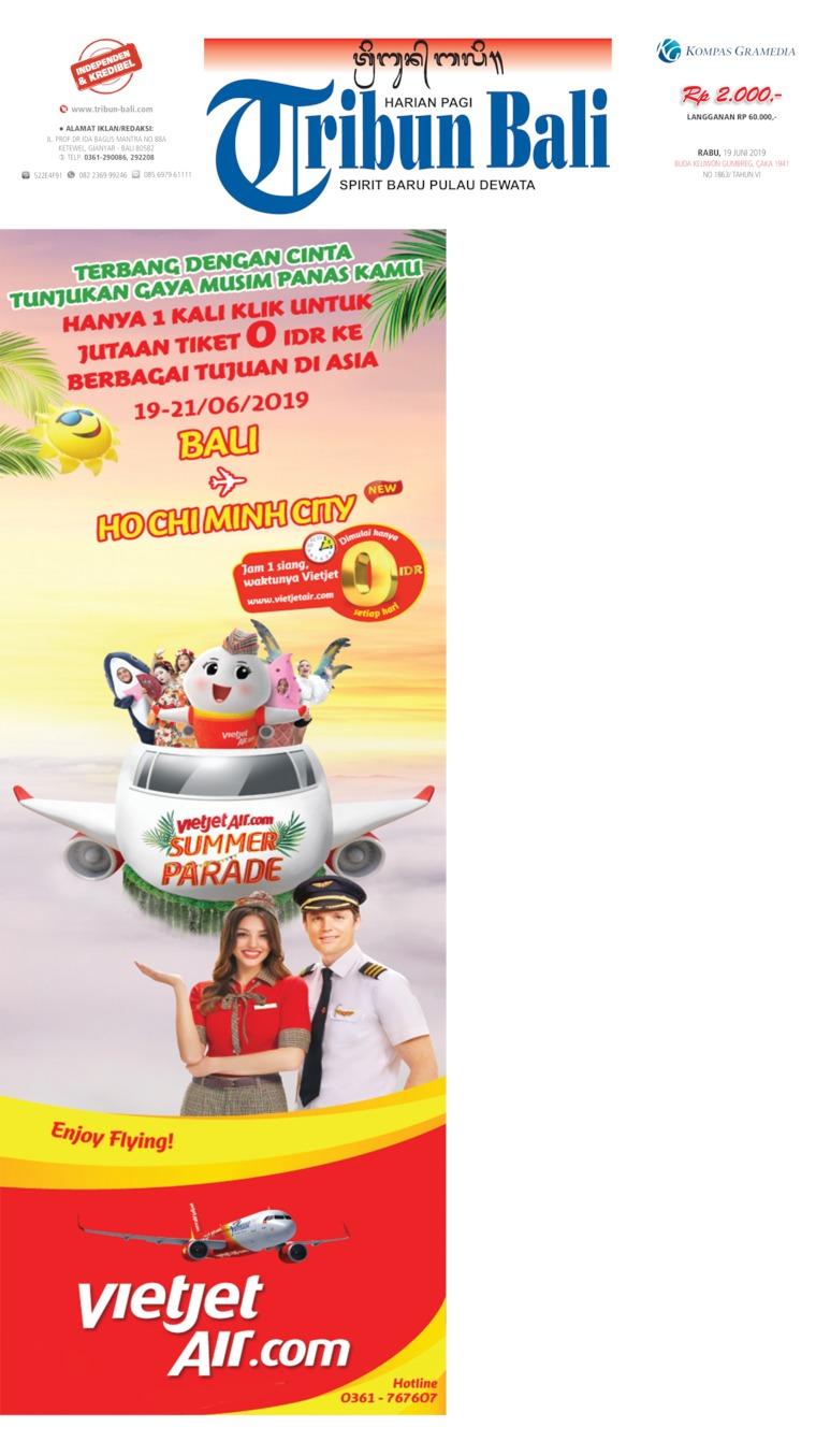 Tribun Bali Digital Newspaper 19 June 2019