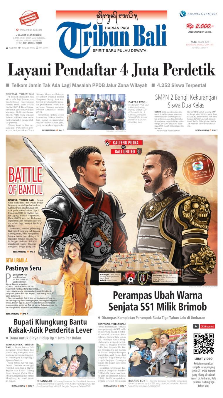 Koran Digital Tribun Bali 26 Juni 2019