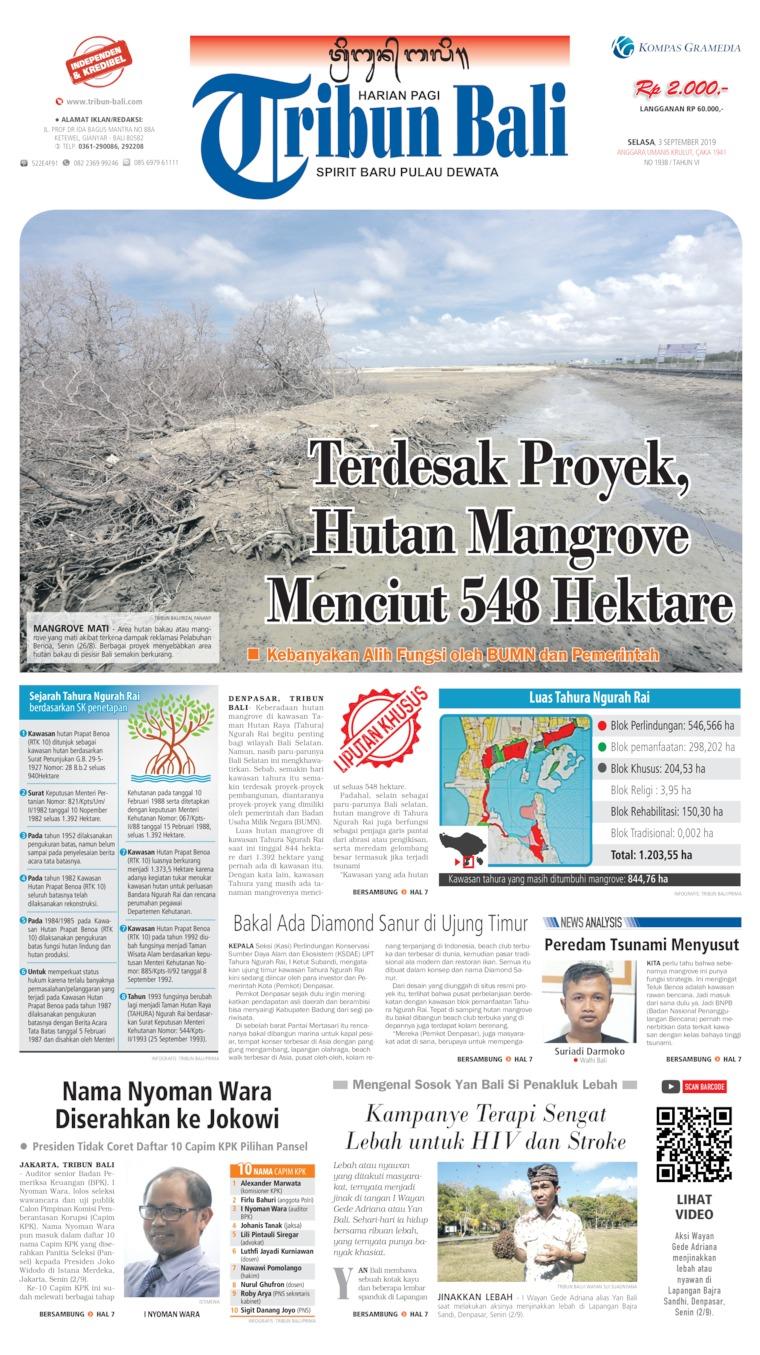 Tribun Bali Digital Newspaper 03 September 2019