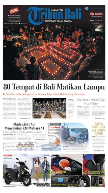 Tribun Bali Newspaper 31 March 2019 Gramedia Digital