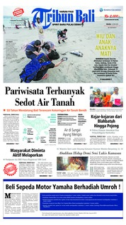 Tribun Bali Cover