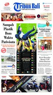 Cover Tribun Bali 16 Juli 2018
