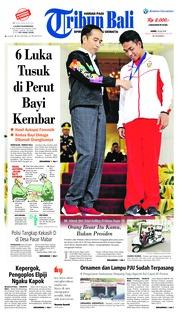 Cover Tribun Bali 19 Juli 2018