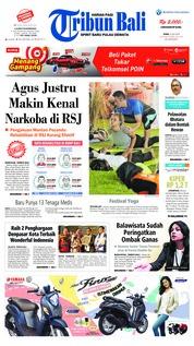Cover Tribun Bali 23 Juli 2018