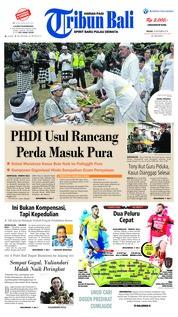 Cover Tribun Bali 18 September 2018