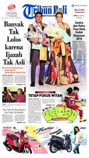 Cover Tribun Bali