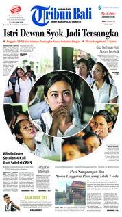 Cover Tribun Bali 07 November 2018