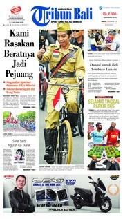 Cover Tribun Bali 11 November 2018